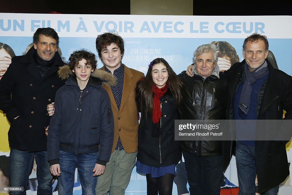 """Le Coeur En Braille"" : Paris Premiere At Gaumont Marignan"