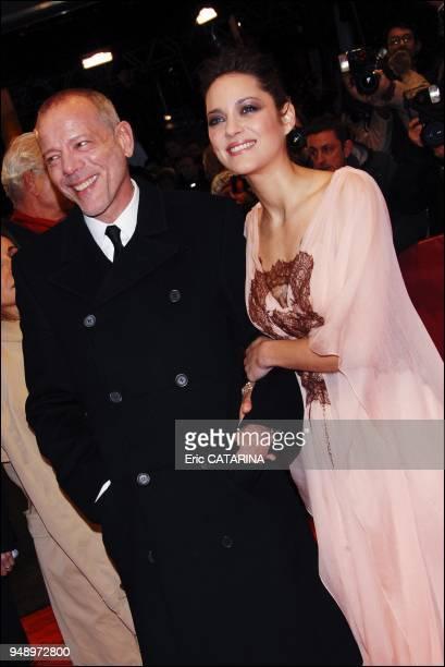 Pascal Greggory and Marion Cotillard