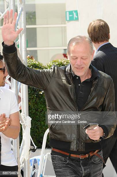 Pascal Greggory at the Photocall for 'Rebecca H ' during the 63rd Cannes International Film Festival
