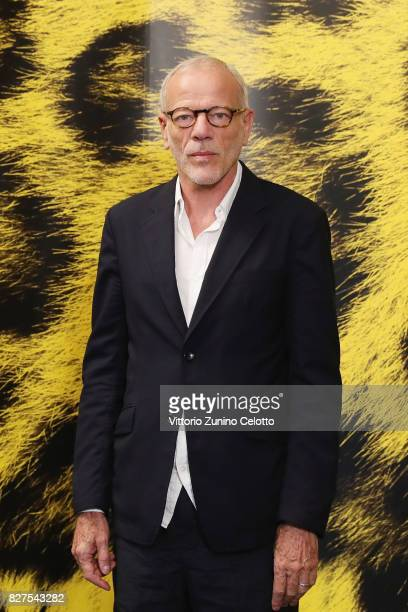 Pascal Greggory attends 'Iceman' photocall during the 70th Locarno Film Festival on August 8 2017 in Locarno Switzerland
