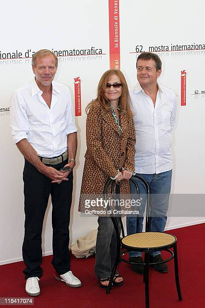 Pascal Greggory Isabelle Huppert and Patrice Chereau