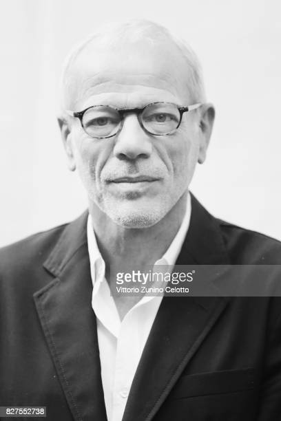 Pascal Greggory poses for a portrait during the 70th Locarno Film Festival on August 8 2017 in Locarno Switzerland
