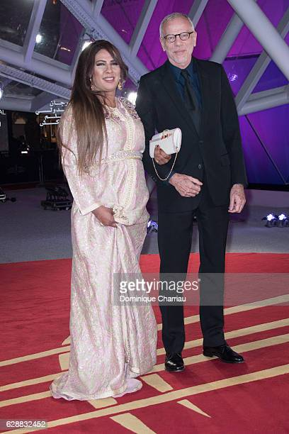 Pascal Gregory and guest attend the tribute to Isabelle Adjani during the16th Marrakech International Film Festival Day Eight on December 9 2016 in...
