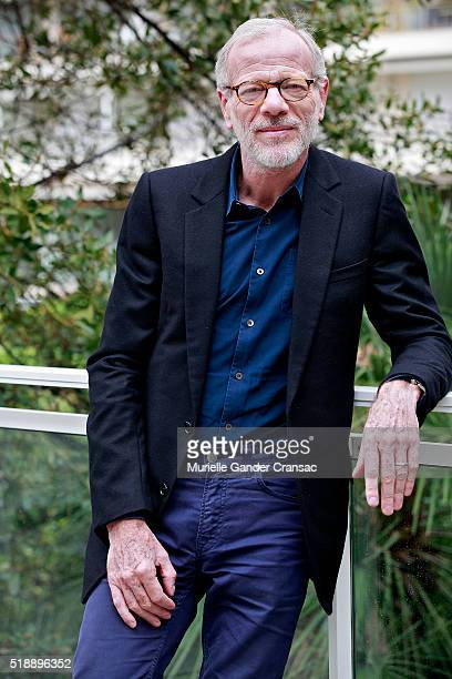 Pascal Gregory poses during a portrait session during MIP TV 2016 at JW Marriott on April 3 in Cannes France