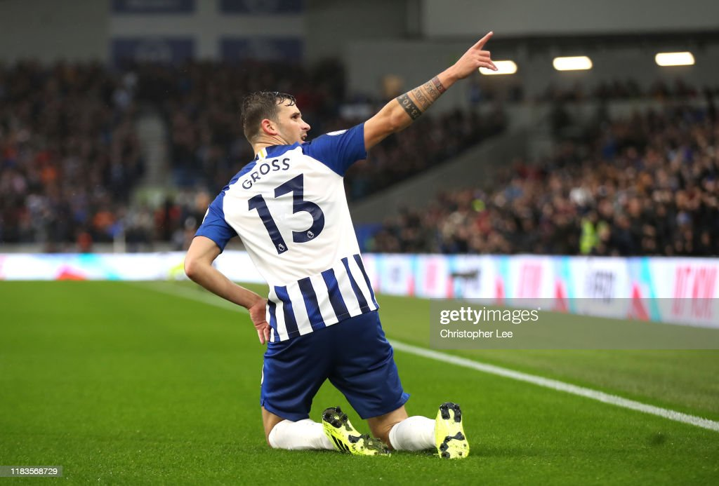 Pascal Gross Of Brighton And Hove Albion Celebrates After Scoring His News Photo Getty Images