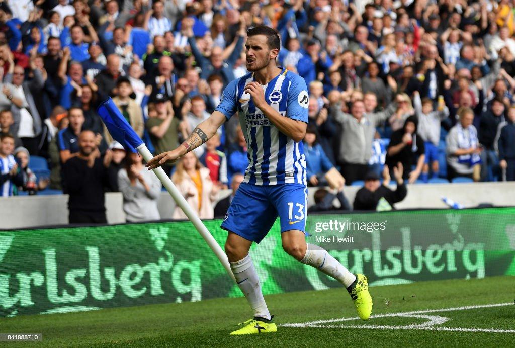 Brighton and Hove Albion v West Bromwich Albion - Premier League : ニュース写真