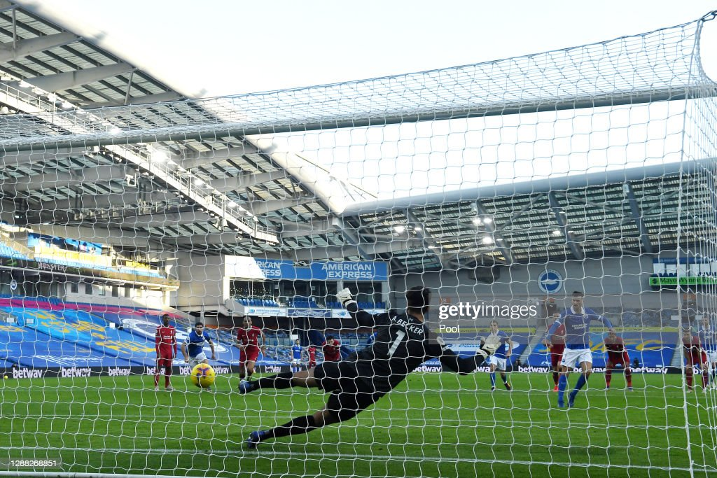 Brighton & Hove Albion v Liverpool - Premier League : News Photo