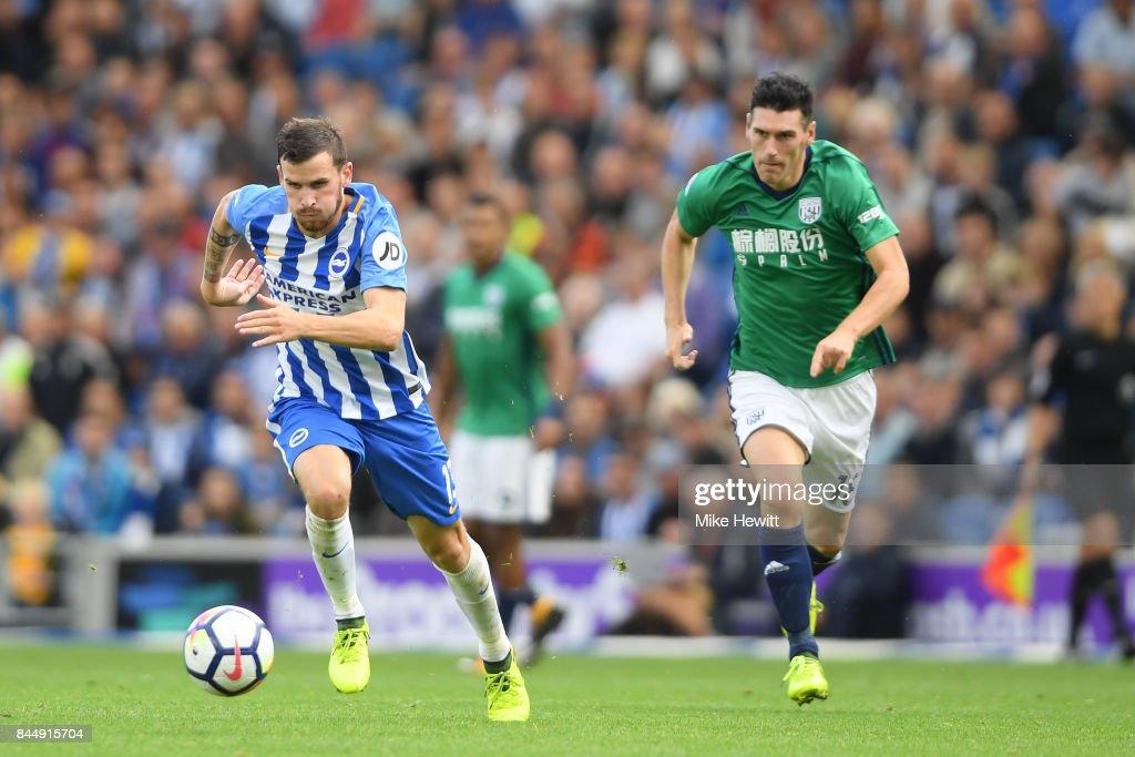 Brighton and Hove Albion v West Bromwich Albion - Premier League : News Photo