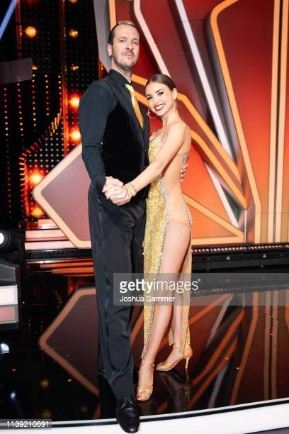 Pascal Hens and Ekaterina Leonova during the 2nd show of the 12th season of the television competition Let's Dance on March 29 2019 in Cologne Germany