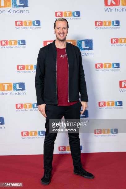 Pascal Hens attends the 25th RTL Telethon on November 20, 2020 in Huerth, Germany.