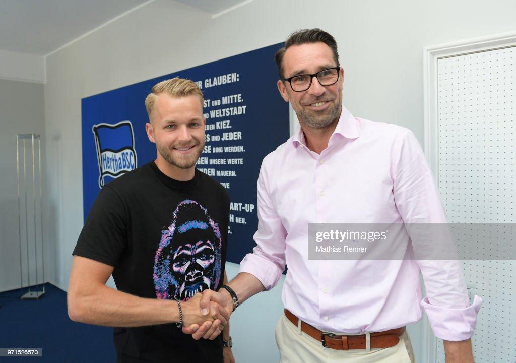 Hertha BSC - new arrival Pascal Koepke : News Photo