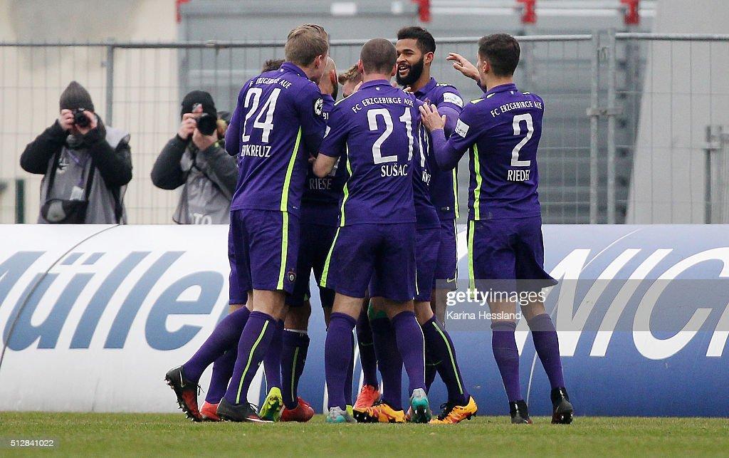 Erzgebirge Aue v RW Erfurt  - 3. Liga