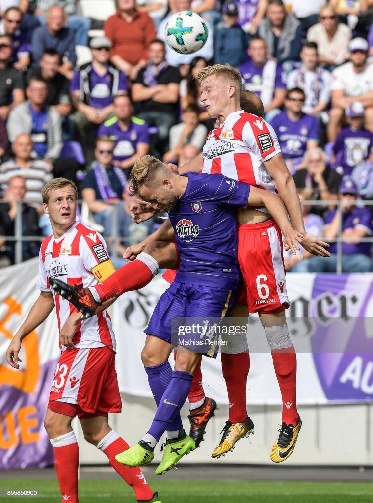 FC Erzgebirge Aue v FC Union Berlin - 2nd Bundesliga