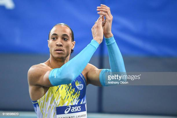 Pascal Martinot Lagarde during the Athletics French Championship Indoor on February 17 2018 in Lievin France