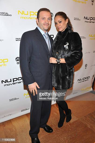 Pascal Mouawad and Bambi Lashell attend the NU POP MOVEMENT launch on November 10 2009 in Atlanta Georgia