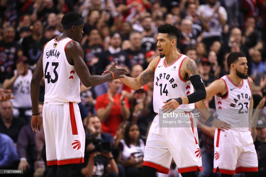 2019 NBA Finals - Game One : News Photo