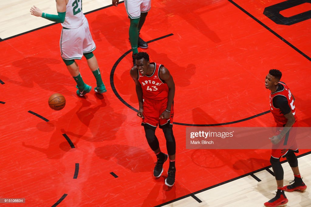 Boston Celtics v Toronto Raptors