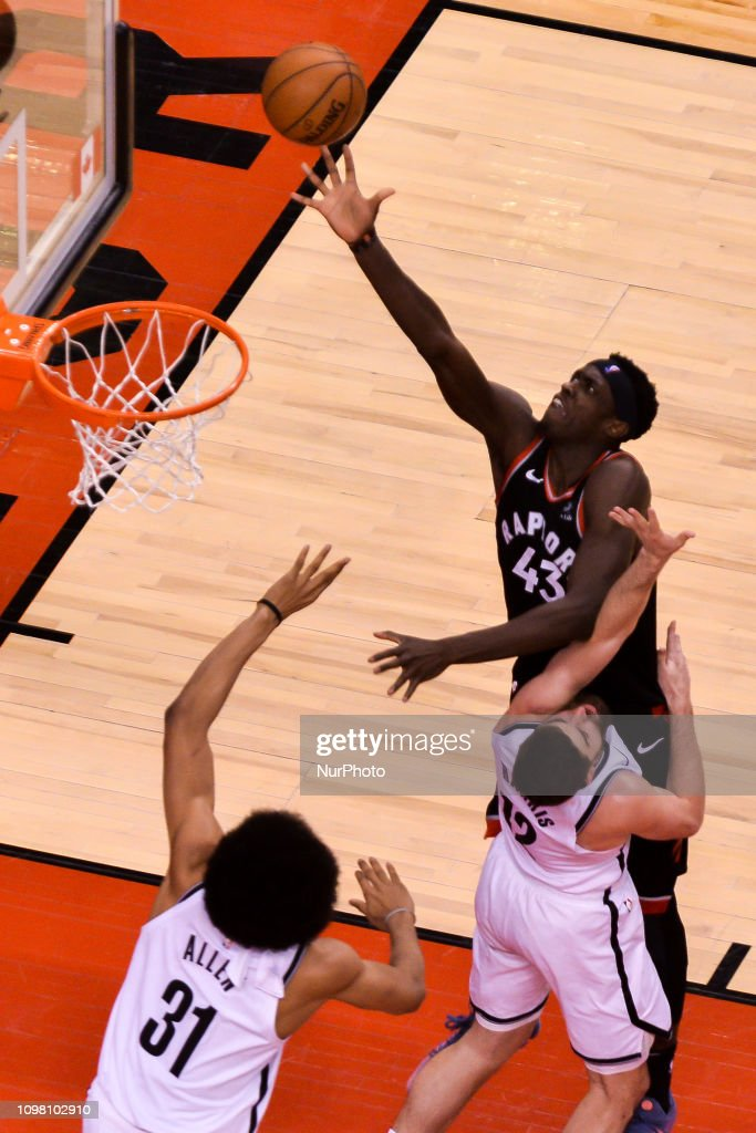 Toronto Raptors v Brooklyn Nets - NBA Game : News Photo