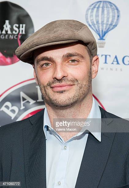 Pascal Tessaud arrives at COLCOA French Film Festival Barnes After Party at Heritage Fine Wines on April 24 2015 in Beverly Hills California