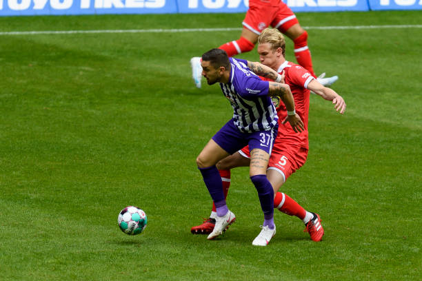 DEU: Fortuna Düsseldorf v FC Erzgebirge Aue - Second Bundesliga
