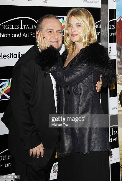 Pascal Vicedomini and Nastassja Kinski arrive at The 8th Annual Los Angeles, Italia Film, Fashion And Art Festival held at Chinese 6 Theatres on...