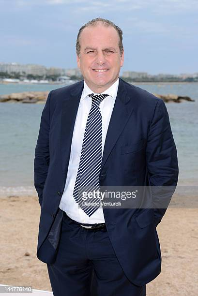 Pascal Vicedomini attends the Film & Music Ischia Global Fest Presentation during the 65th Annual Cannes Film Festival at on May 19, 2012 in Cannes,...