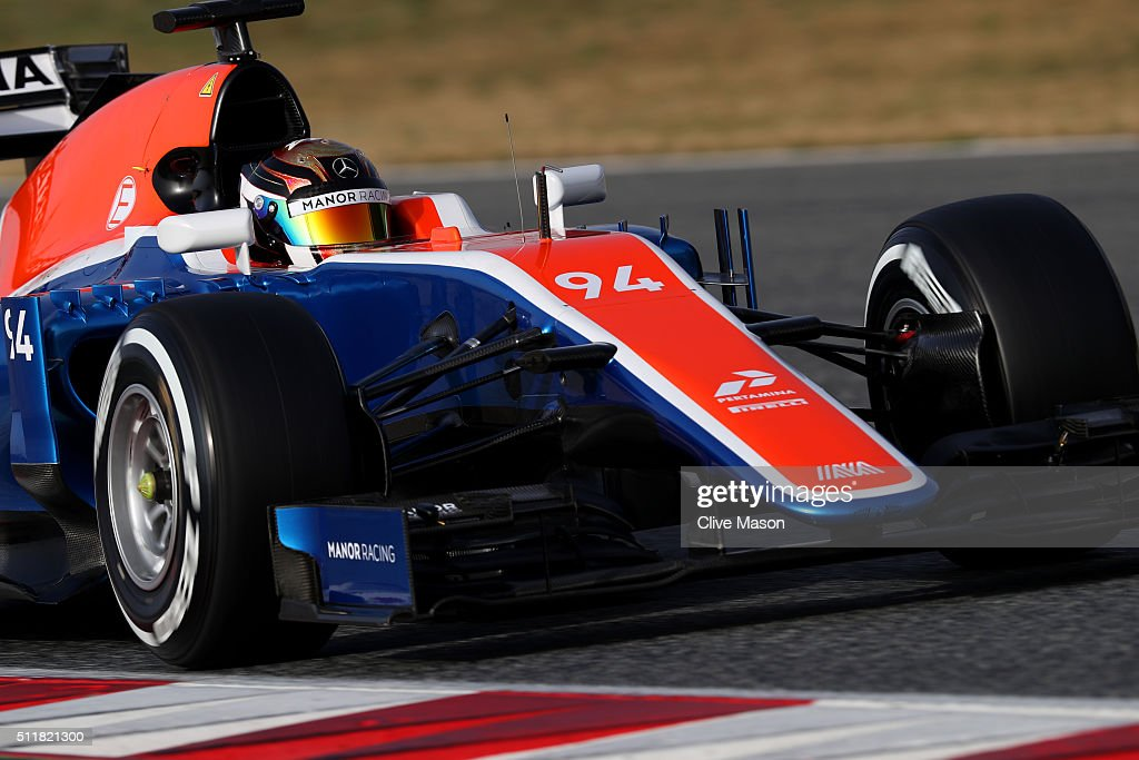 F1 Testing In Barcelona - Day Two : News Photo