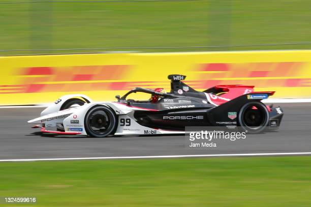 Pascal Wehrlein of Germany drives with the Tag Heuer Porsche FE team during the competition of the ABB FIA Formula E Championship - Puebla E-Prix...