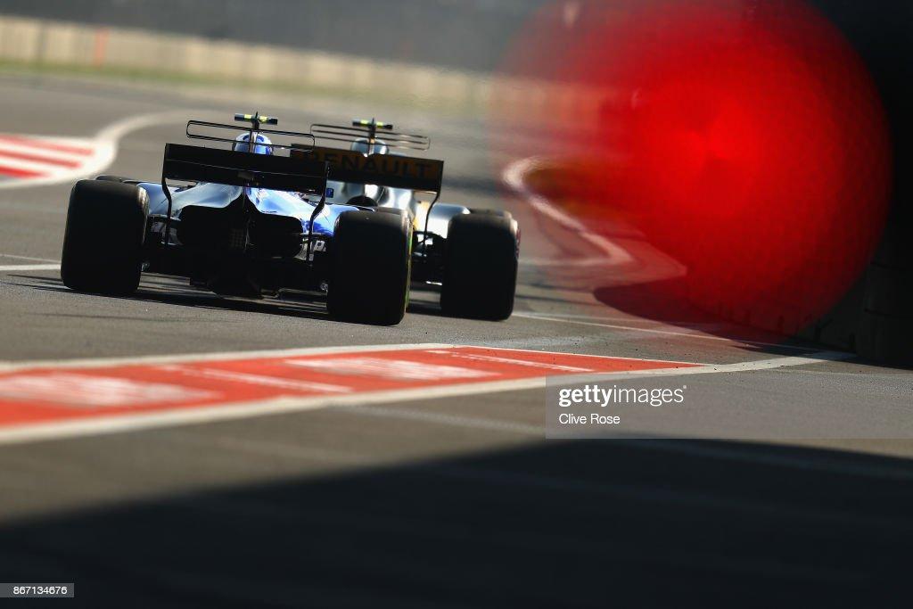 F1 Grand Prix of Mexico - Practice : News Photo