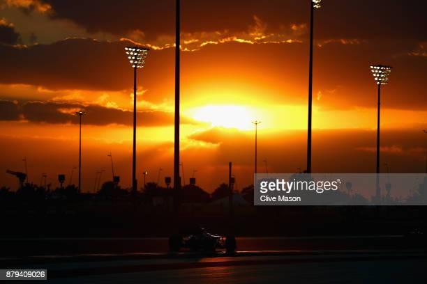 Pascal Wehrlein of Germany driving the Sauber F1 Team Sauber C36 Ferrari on track during the Abu Dhabi Formula One Grand Prix at Yas Marina Circuit...