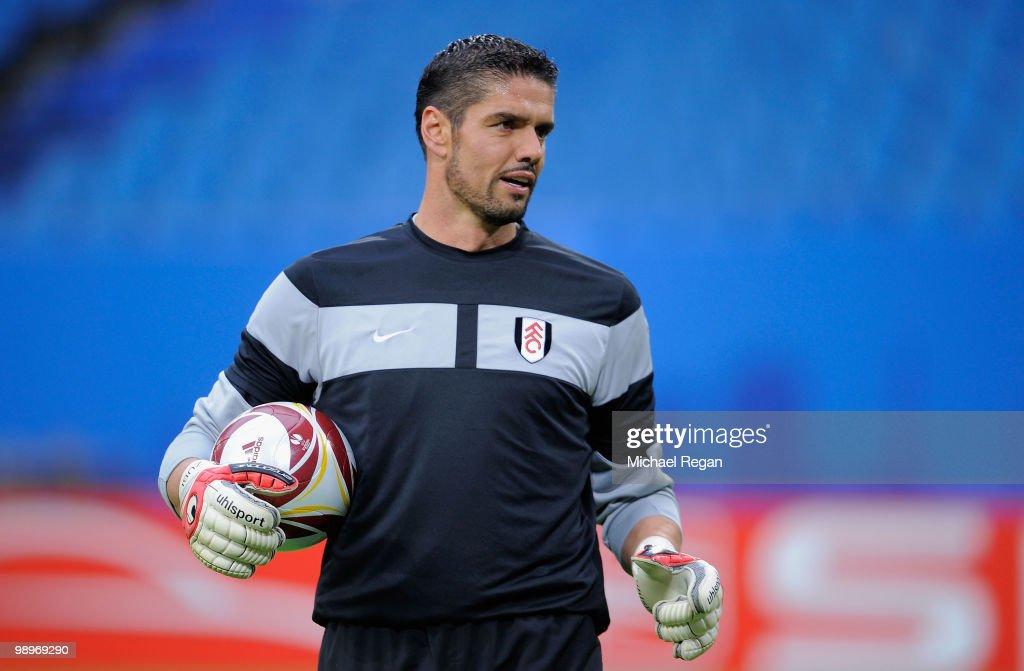 Fulham FC - Press Conference & Training : News Photo