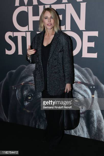 Pascale Arbillot attends the Mon Chien Stupide premiere at UGC Normandie on October 22 2019 in Paris France