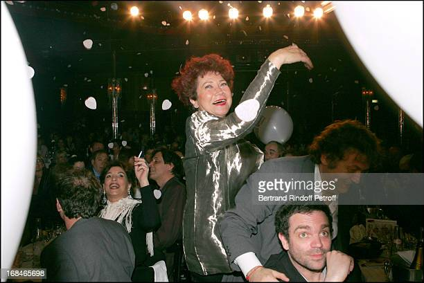 Pascale Breugnot at Dalida TV Film Tribute To The Singer