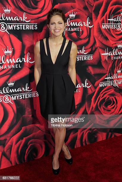 Pascale Hutton attends Hallmark Channel Movies and Mysteries Winter 2017 TCA Press Tour at The Tournament House on January 14 2017 in Pasadena...