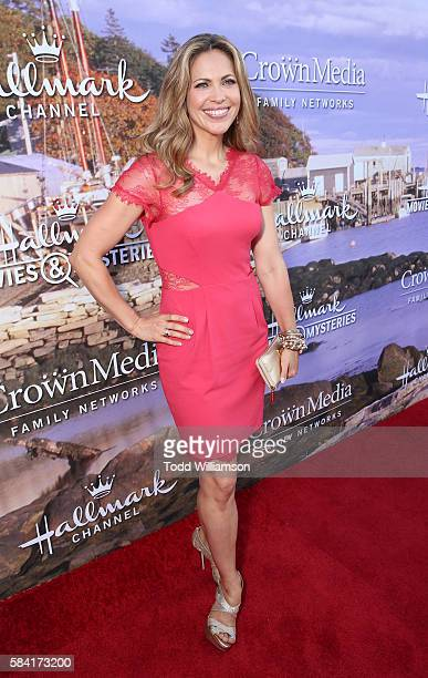 Pascale Hutton attends the Hallmark Channel And Hallmark Movies And Mysteries Summer 2016 TCA Press Tour Event on July 27 2016 in Beverly Hills...