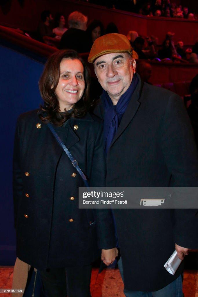 "Celebrities At ""Depardieu Chante Barbara"" At ""Le Cirque D'Hiver"""