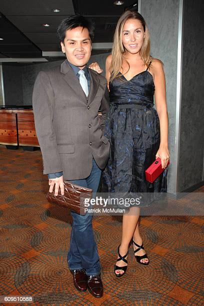 Pascual and Anya Assante attend The FIT Couture Council Luncheon honoring ALBER ELBAZ of LANVIN at Rainbow Room on September 5 2007 in New York City