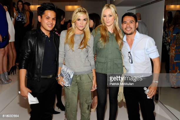 PJ Pascual Tinsley Mortimer Dabney Mercer and attend SANCHEZ Spring 2011 Presentation at 148 West 37th St on September 16 2010 in New York City