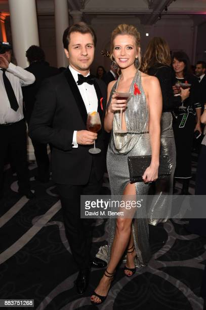 Pasha Kovalev and Rachel Riley attend the Grassroots Soccer Annual Charity Gala aimed at using football to educate and help eliminate the global...