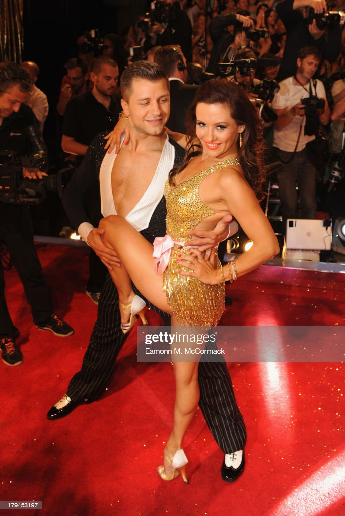Pasha Kovelev attends the red carpet launch for 'Strictly Come Dancing' at Elstree Studios on September 3, 2013 in Borehamwood, England.