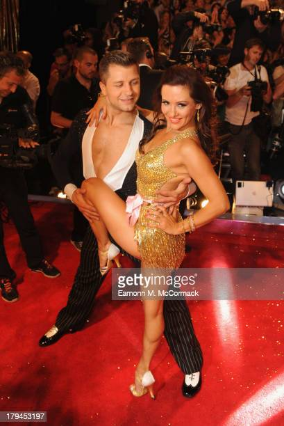 Pasha Kovelev attends the red carpet launch for Strictly Come Dancing at Elstree Studios on September 3 2013 in Borehamwood England