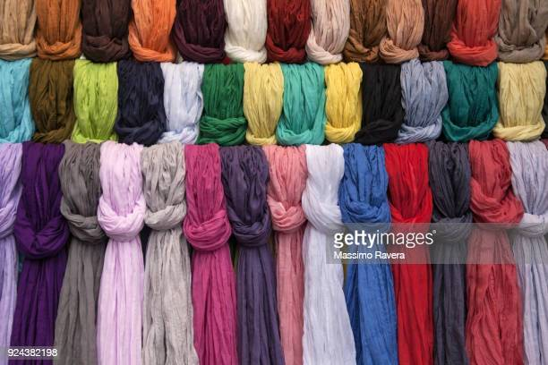 pashmina scarves - shawl stock pictures, royalty-free photos & images