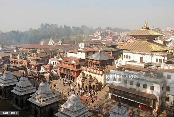 pashupatinath temple in kathmandu - カトマンズ ストックフォトと画像