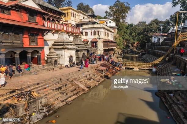 Pashupatinath tempel in Kathmandu