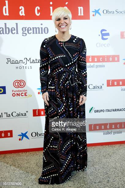 Pasion Vega attends 'Estrellas por la Ciencia' gala at the Canal Theater on November 26 2018 in Madrid Spain