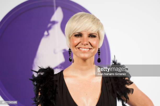 Pasion Vega attends 'Mi Querida Cecilia' photocall at Palacio Municipal de Congresos on November 9 2017 in Madrid Spain