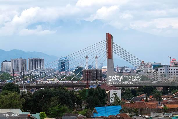 Pasopati Bridge in Bandung , West Java.