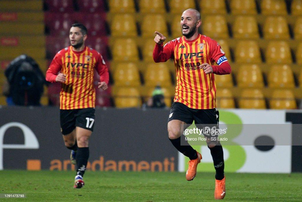 Benevento Calcio v SS Lazio - Serie A : ニュース写真