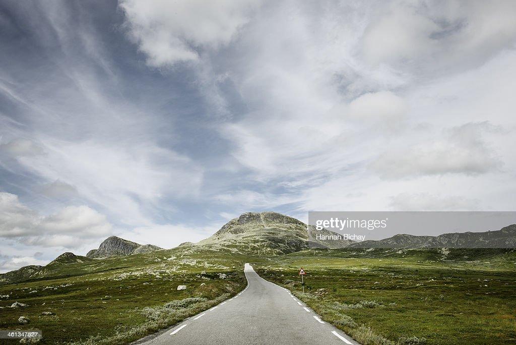 Pass Road, Norway : Stock Photo