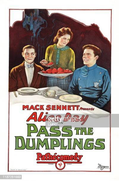 Pass The Dumplings poster US poster art from left Eddie Quillan Alice Day Danny O'Shea 1927